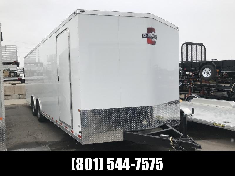 2017 Charmac Trailers 26ft White Stealth Enclosed Cargo Trailer in Ashburn, VA