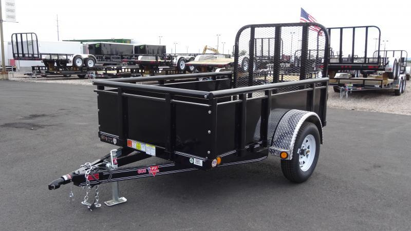 2018 PJ Trailers 60X8 High Side Utility Trailer