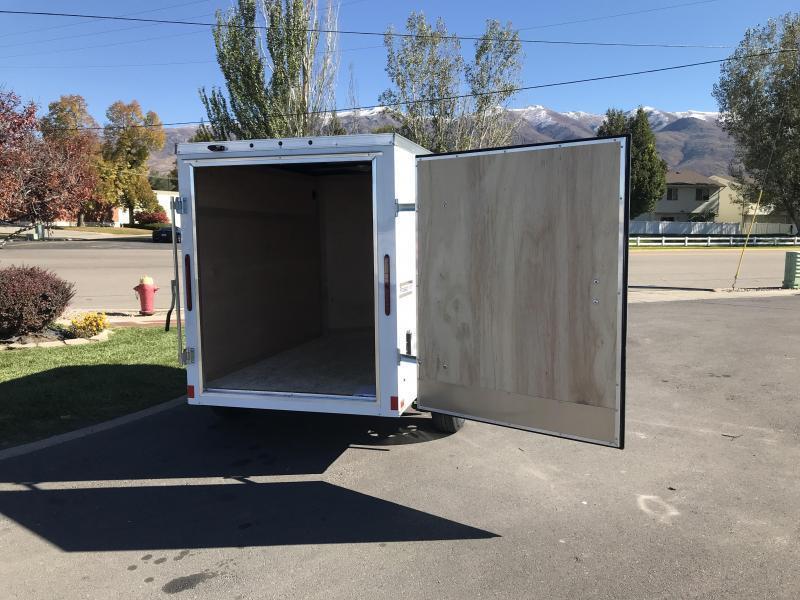 2018 Haulmark 5x8ft Passport w Door Enclosed Cargo Trailer