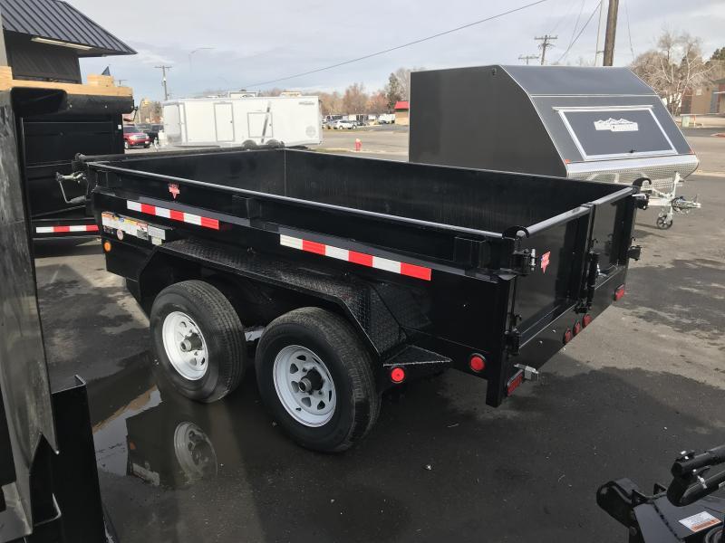 2019 PJ Trailers 6x12 Tandem Axle Dump (D3) Dump Trailer