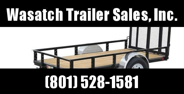 PJ Trailers 5x8 Single Axle Channel Utility (U6) Utility Trailer
