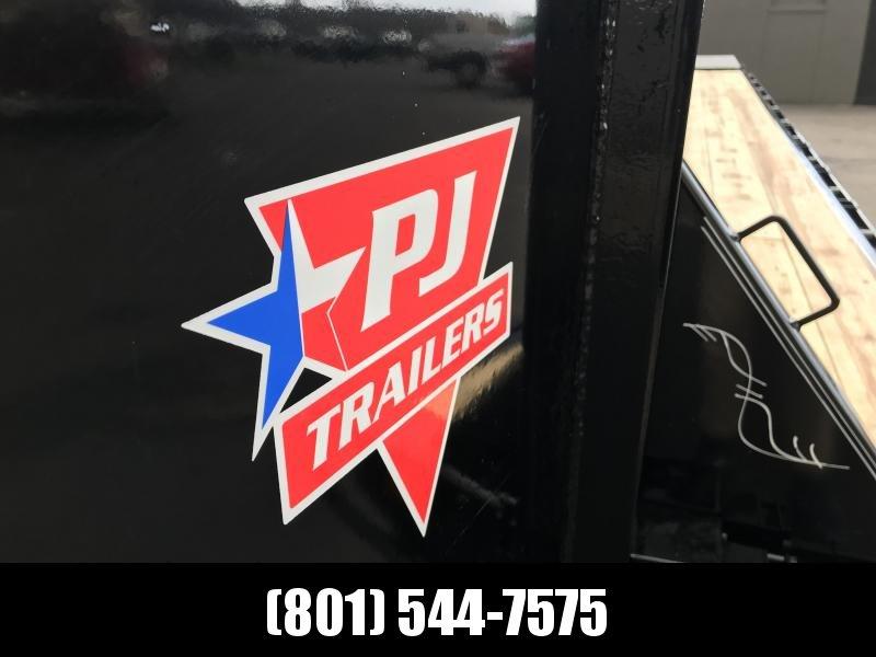 2019 PJ Trailers 30ft Gooseneck Flatdeck Classic w Duals