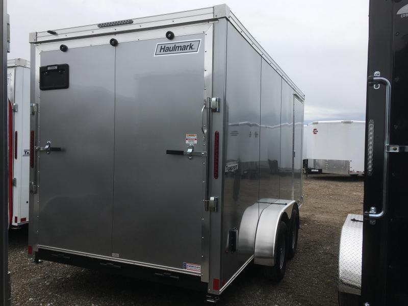 Haulmark 7x16 Transport w/ Ramp Cargo