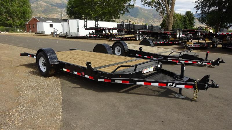 2016 PJ Trailers 16 Heavy Duty Tilt Flatbed Trailer