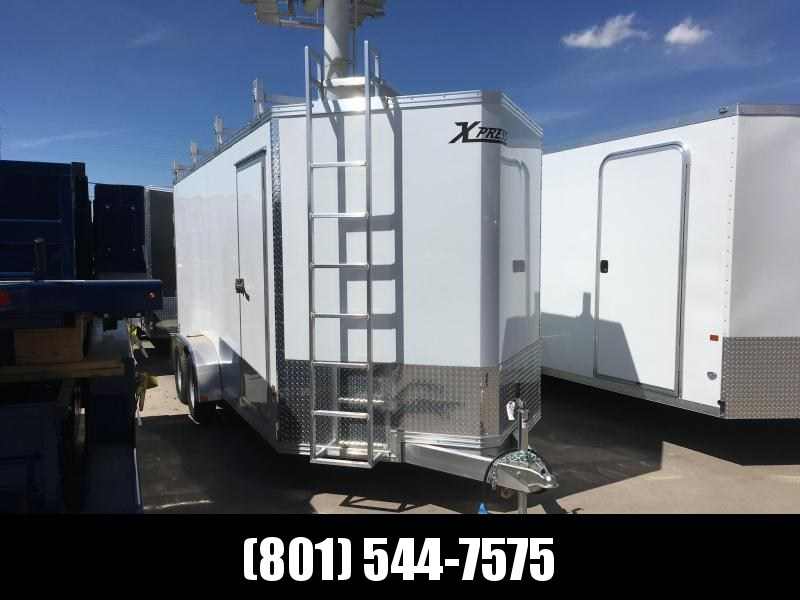 2019 High Country 7x16 Xpress Contractor Trailer