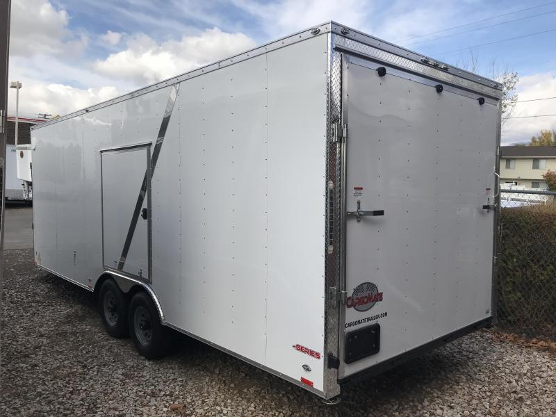 2018 Cargo Mate 27 ES Snowmobile Trailer