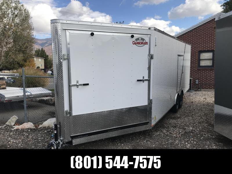 2018 Cargo Mate 27 ES Snowmobile Trailer