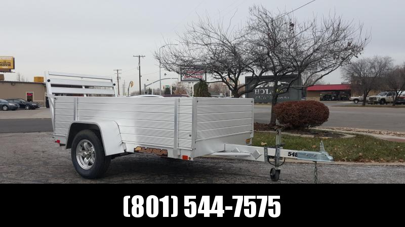 Aluma 548 Utility Trailer with High Sides in Ashburn, VA