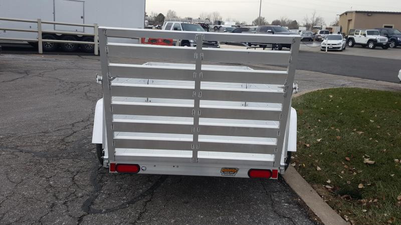 Aluma 548 Utility Trailer with High Sides