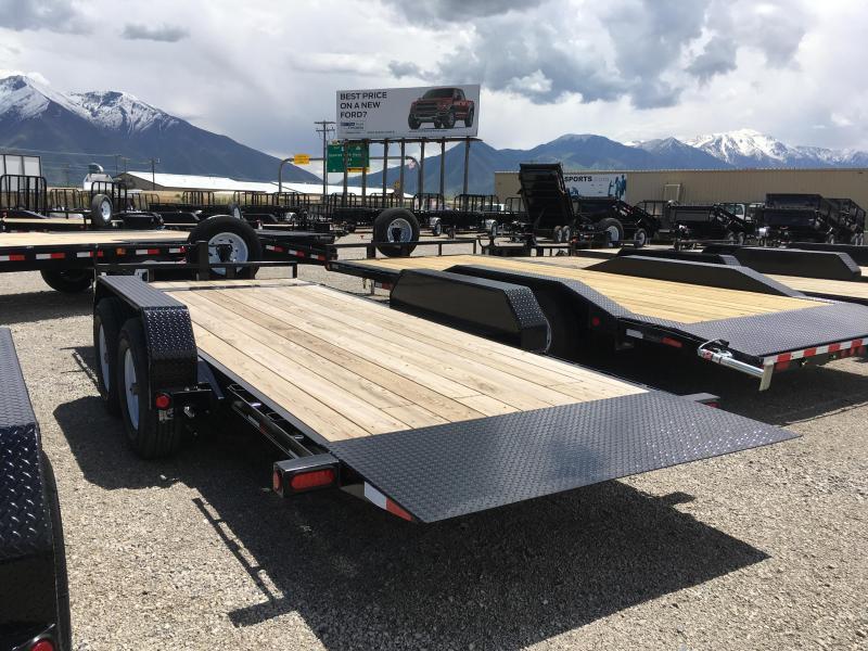 PJ Trailers 18' Tilt Deck 6 in. Channel (T6) Equipment Trailer