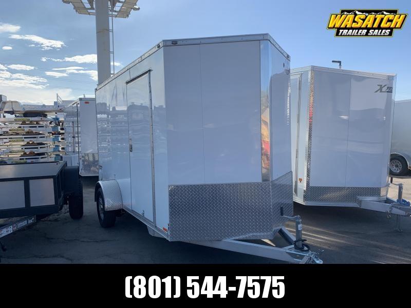 2019 Cargo Mate 6x12 Aluminum E-Series Enclosed Cargo Trailer