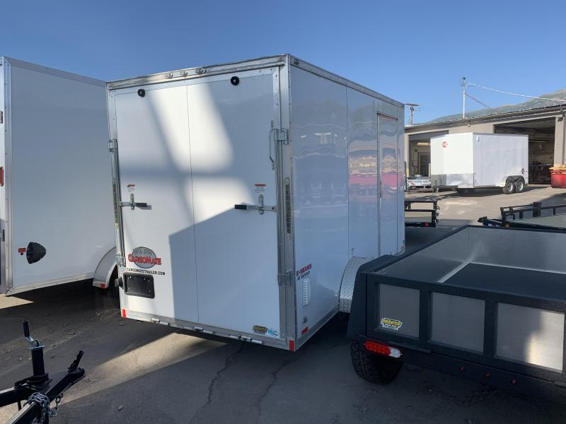 2019 Cargo Mate 6x12 Aluminum E-Series Enclosed Cargo Trailer