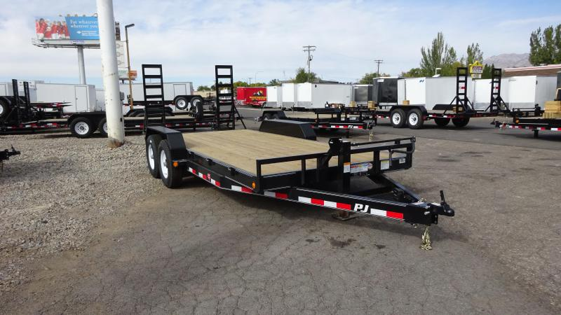 2019 PJ Trailers 18ft - 6 in. Channel Equipment (CC) Car / Racing Trailer