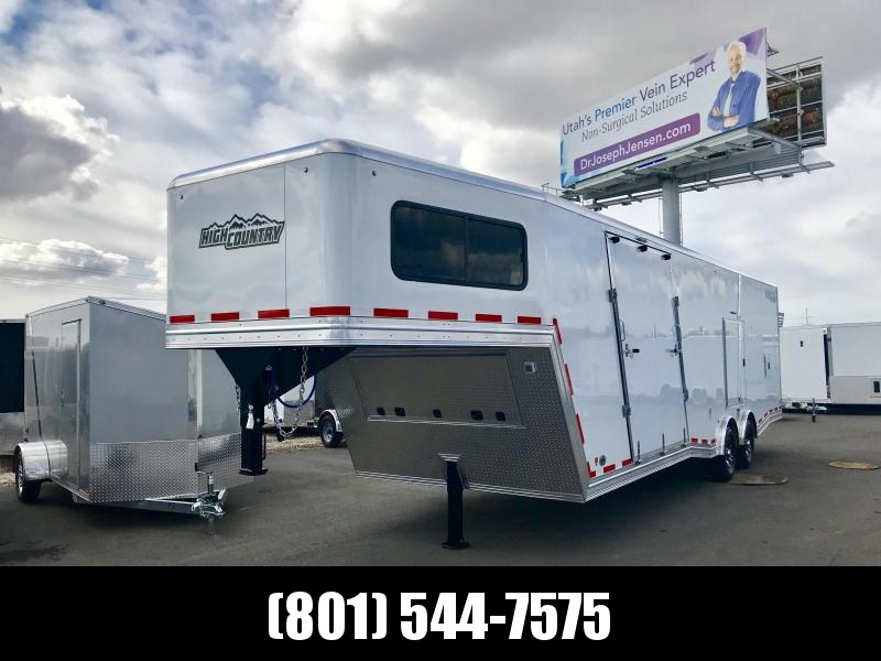 2018 High Country 38ft Gooseneck Elevation Snowmobile Trailer in Ashburn, VA