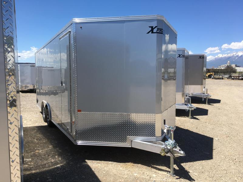 8x20 Silver High Country Xpress Cargo Trailer