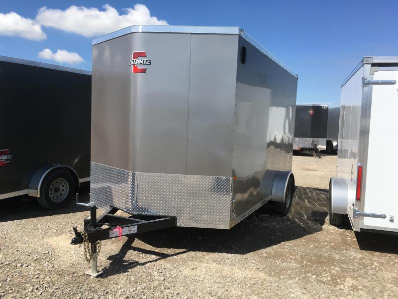 2019 Charmac Trailers 7x12 Stealth with Ramp Enclosed Cargo Trailer