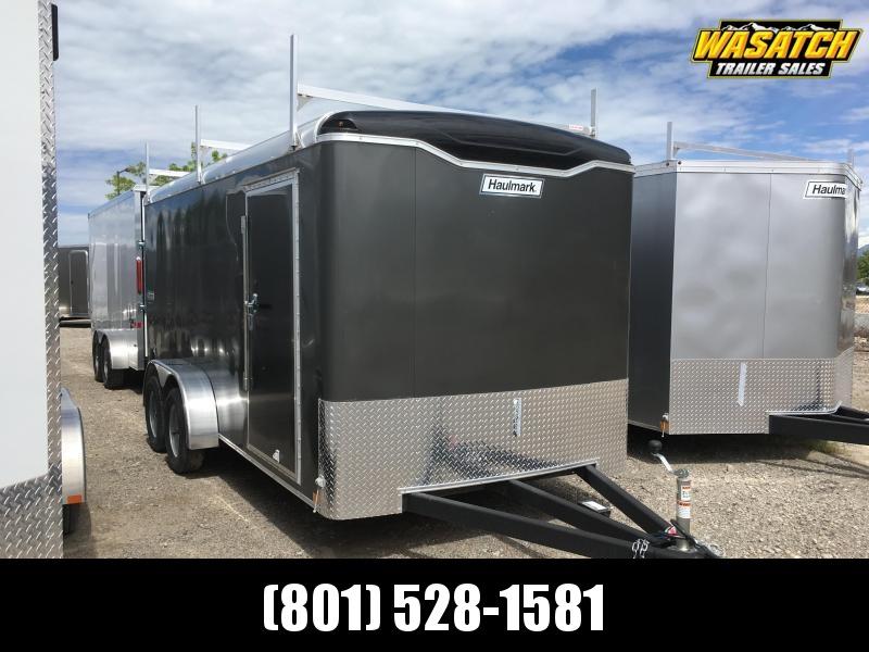 Haulmark 7x16 Transport Enclosed Steel Cargo