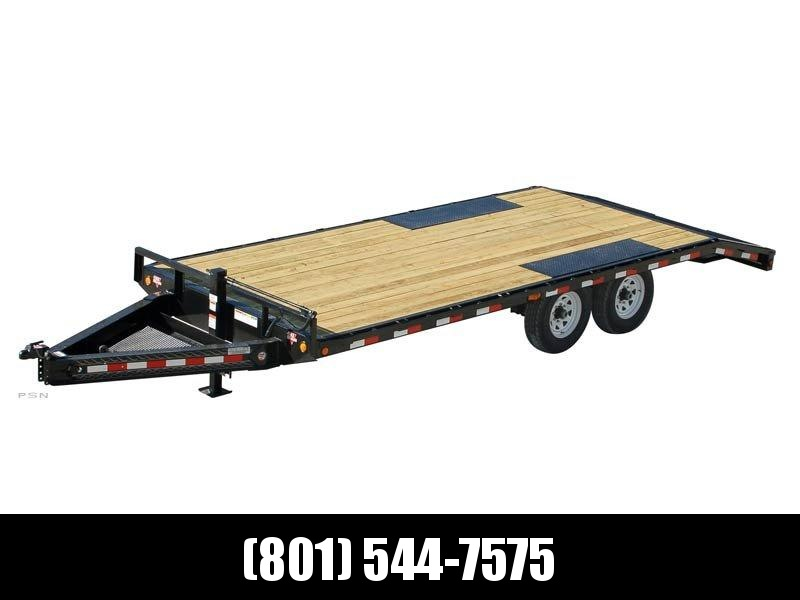 2019 PJ Trailers 24ft - 8 in. I-Beam Deckover (F8) Flatbed Trailer in UT