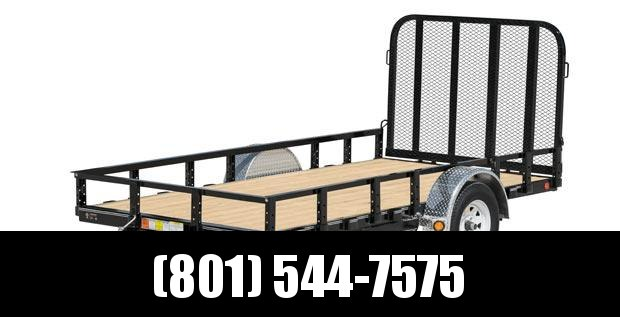 2019 PJ Trailers 8 x 6 Channel Utility (U2) Utility Trailer