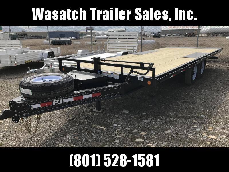2019 PJ Trailers 22FT Deckover Tilt (T8) Equipment Trailer in Ashburn, VA