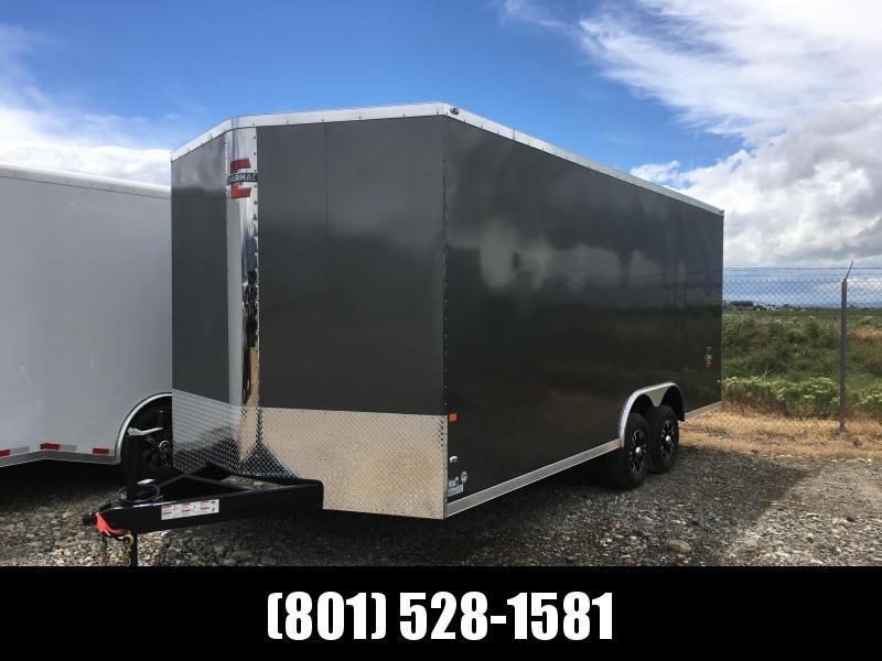 2019 100x20 Charmac Stealth Carhauler with Drive-Over Fender Wells in Ashburn, VA
