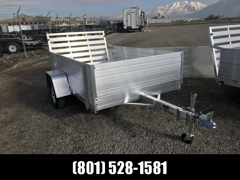 Aluma 638LW Utility Trailer with 24in. Solid Sides