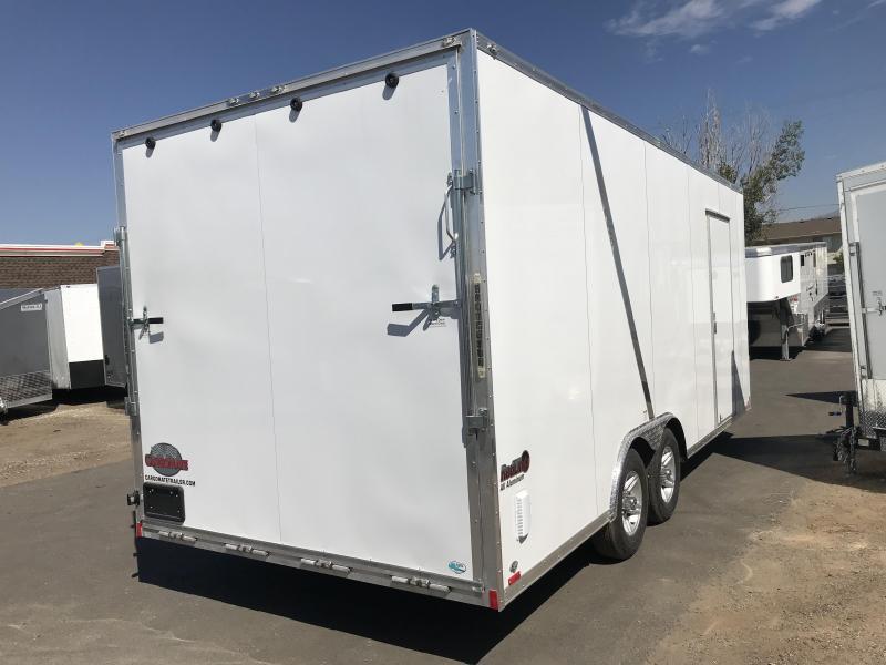 2018 Cargo Mate 8x24 Redline Enclosed Cargo Trailer