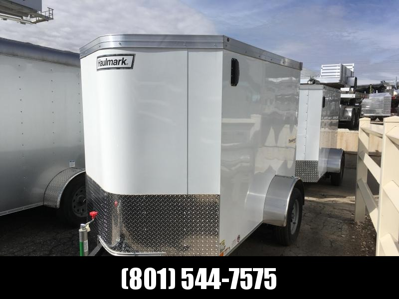 2019 Haulmark 5x8 Transport Enclosed Cargo Trailer