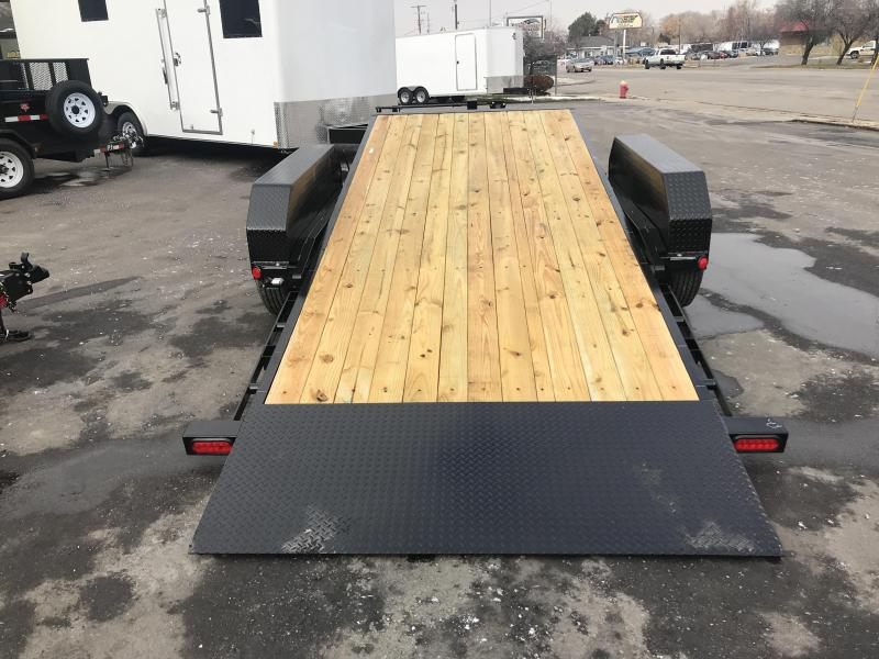 2019 PJ Trailers 18ft - 6 in. Channel Equipment Tilt (T6) Car / Racing Trailer