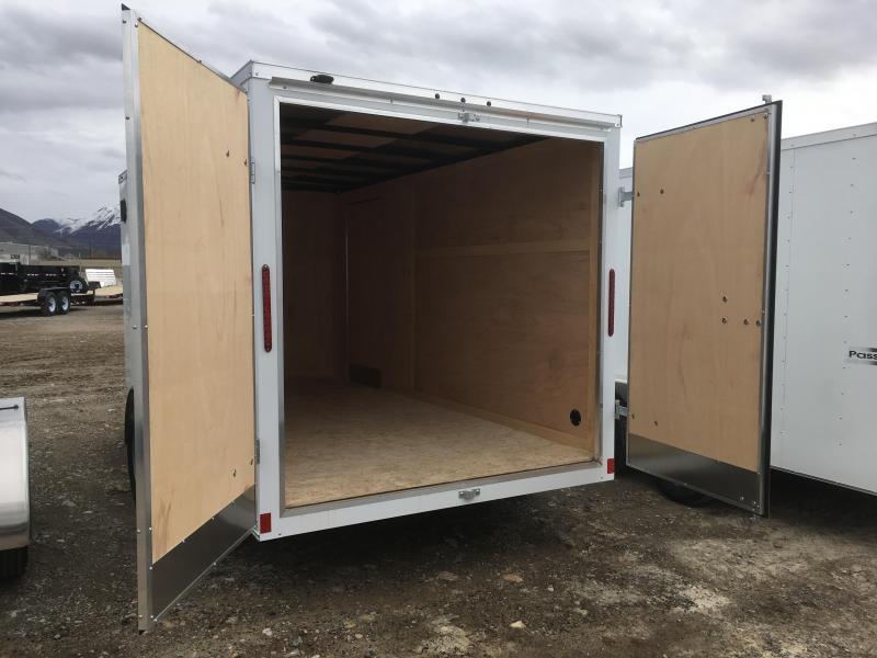 Haulmark 7x14 Passport Enclosed Steel Cargo Trailer w/ V-nose