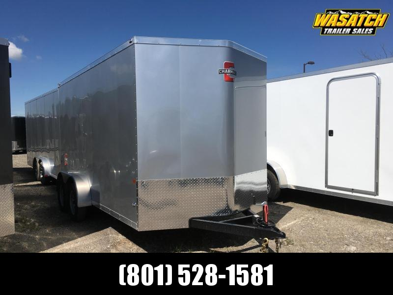 Charmac 7x14 Stealth Enclosed Steel Cargo w V-nose