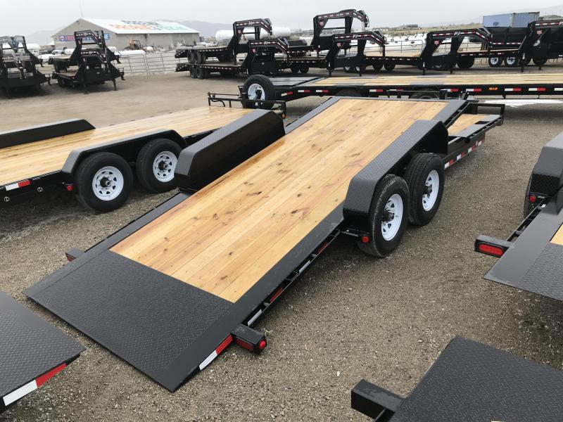 PJ Trailers 22FT. HD Tilt 6 in. Channel (TJ) Equipment Trailer