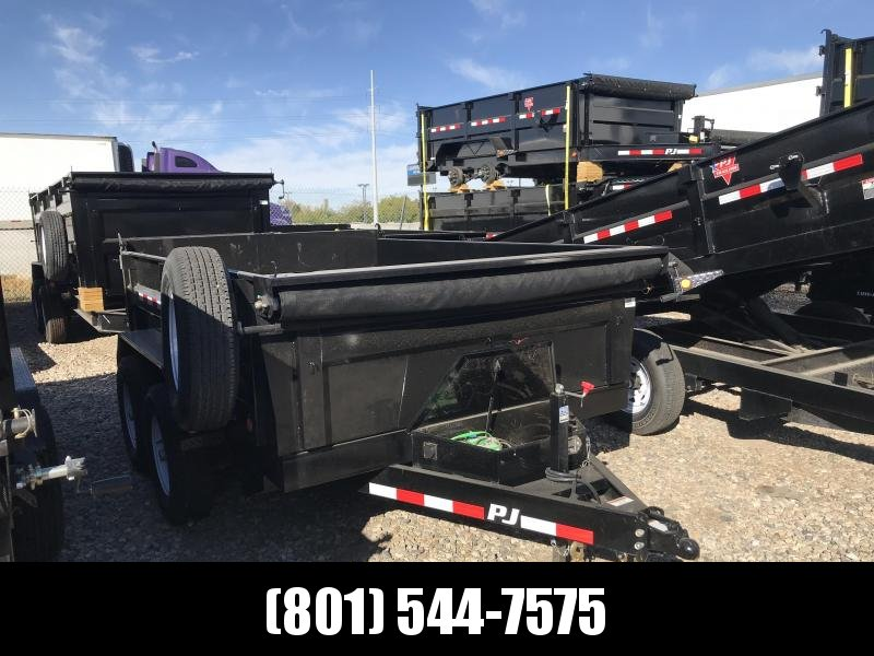 2019 PJ Trailers 10ft D7 Dump Trailer