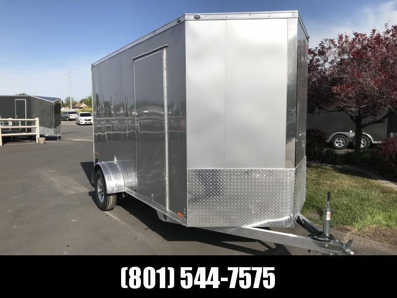 2019 Cargo Mate 6 x 12 Aluminum Enclosed Cargo Trailer