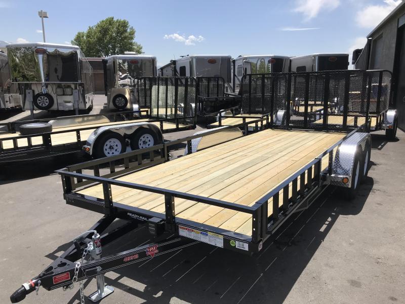 2019 PJ Trailers 83in x 18ft UL Utility Trailer