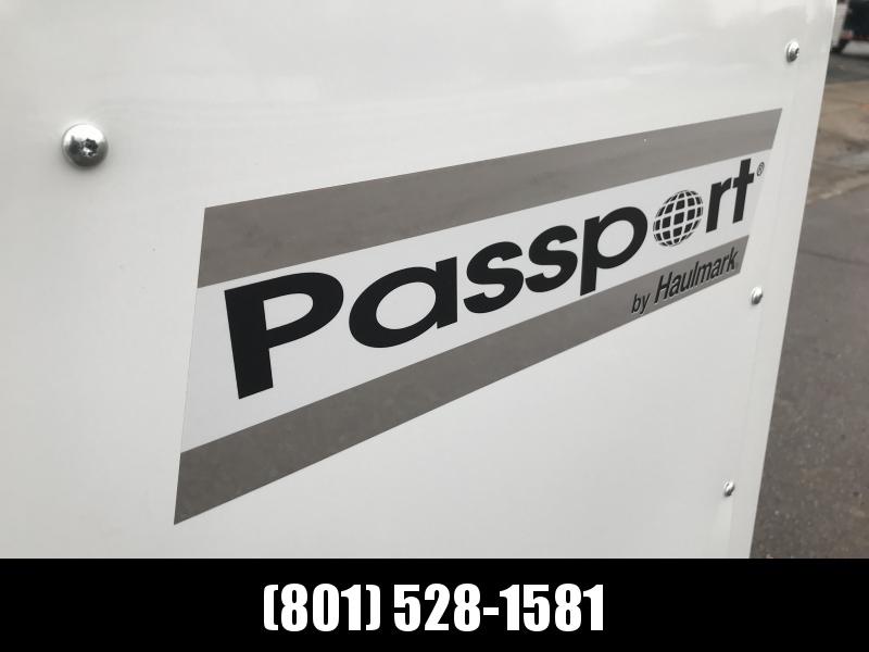 2019 Haulmark Passport White 7x14 with Ramp Enclosed Cargo Trailer