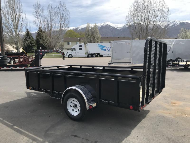 2019 PJ Trailers 10ft - 77 in. Channel Utility (U7) Utility Trailer