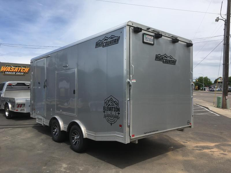 2018 High Country 8.5x23 Elevation All-Sport Snowmobile Trailer