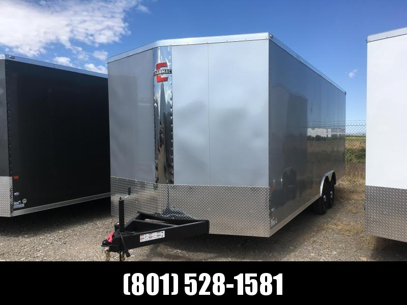100x20 Silver Charmac Stealth Carhauler with Diamond Package
