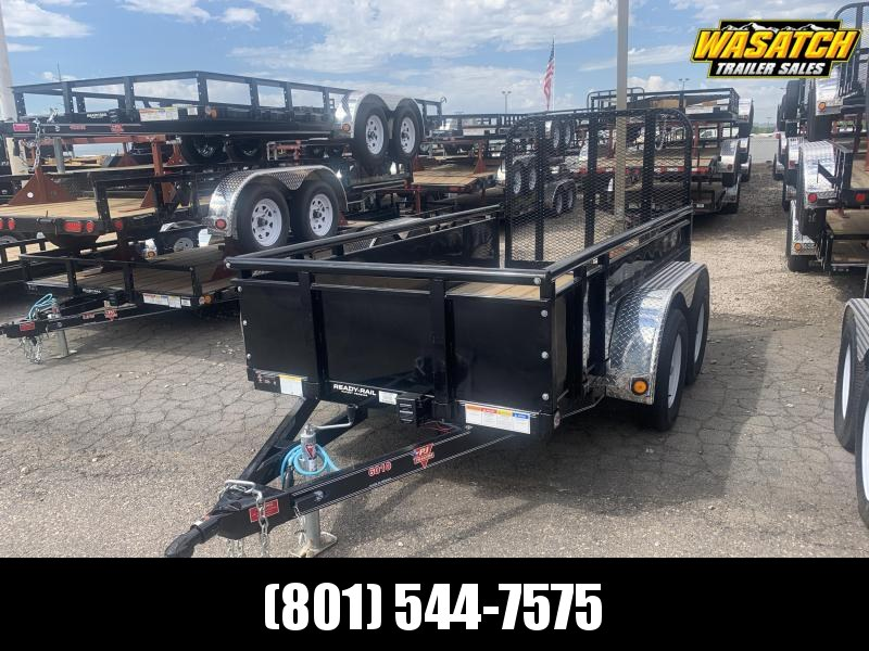 "2020 PJ Trailers 10' x 60"" Tndm Axle Channel Utility Trailer"