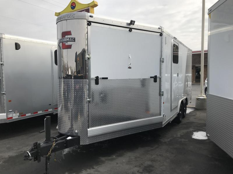 2019 Charmac Trailers 22ft Tri Sport Snowmobile Trailer