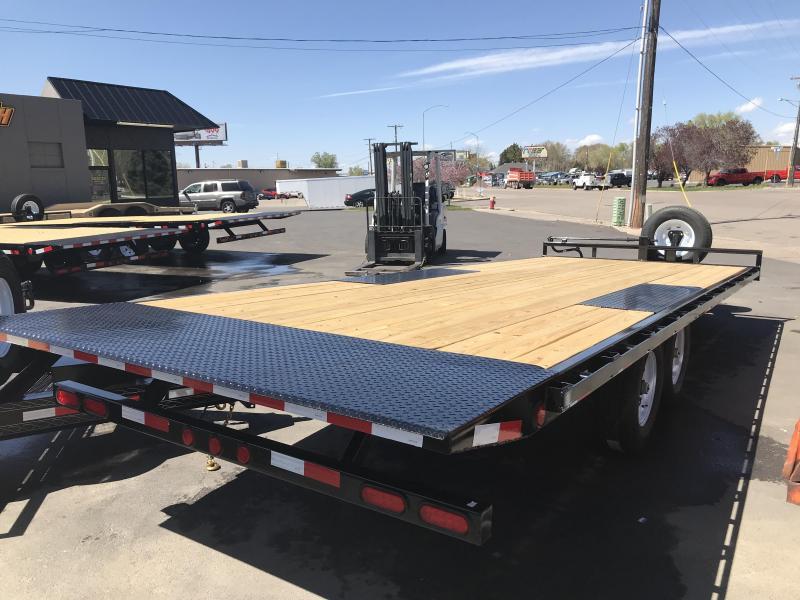 2019 PJ Trailers 22ft - Deckover Tilt (T8) Equipment Trailer