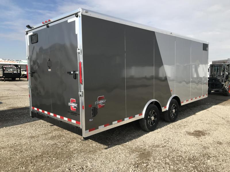 Charmac 28ft Tri Sport Snowmobile Trailer