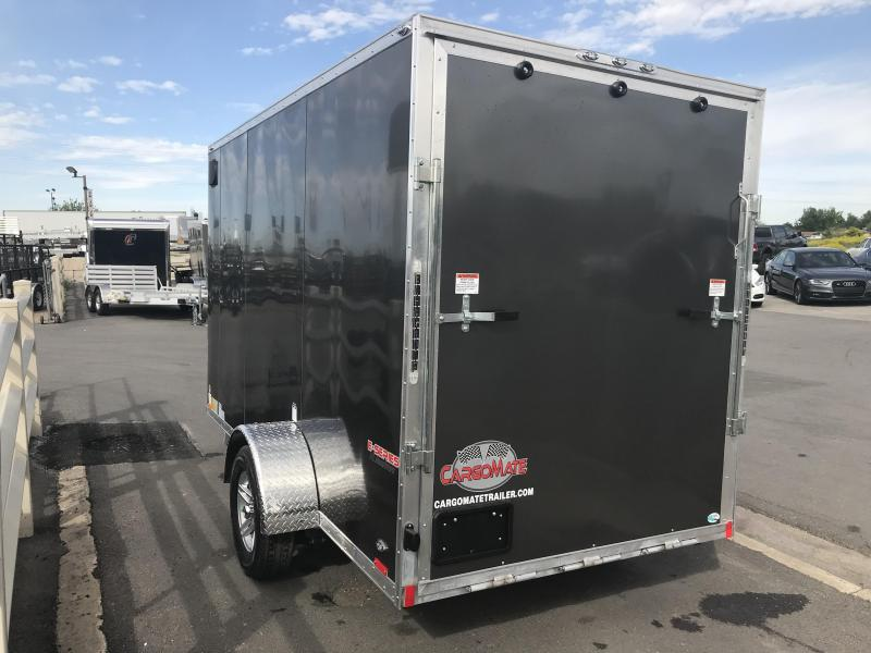 2019 Cargo Mate 6 x 12 E-Series Aluminum Enclosed Cargo Trailer