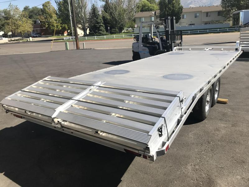 2019 Aluma 24ft 1024 Aluminum Utility Trailer