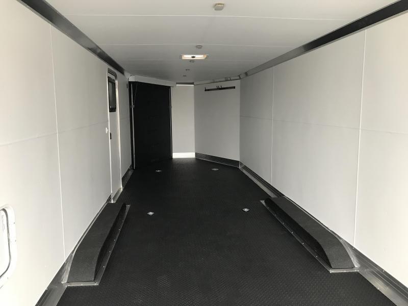 2019 Charmac Trailers 30ft Tri Sport Snowmobile Trailer