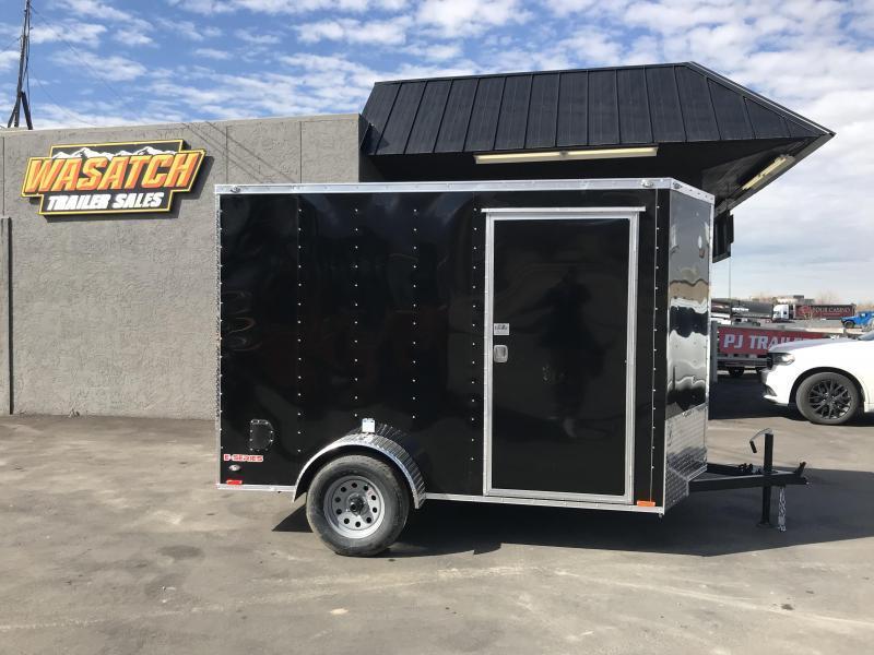 2018 Cargo Mate 6X12 ES Enclosed Cargo Trailer