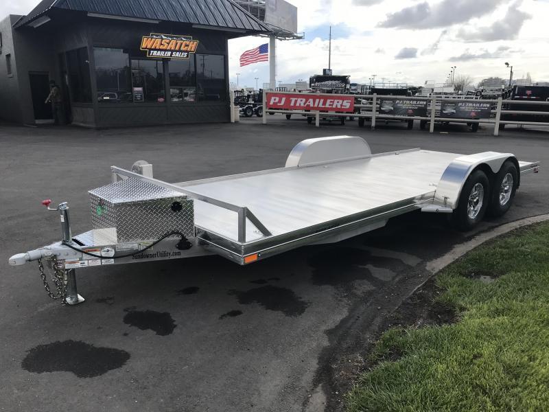 2019 Sundowner Trailers 20 AP 4000 Aluminum Car Hauler