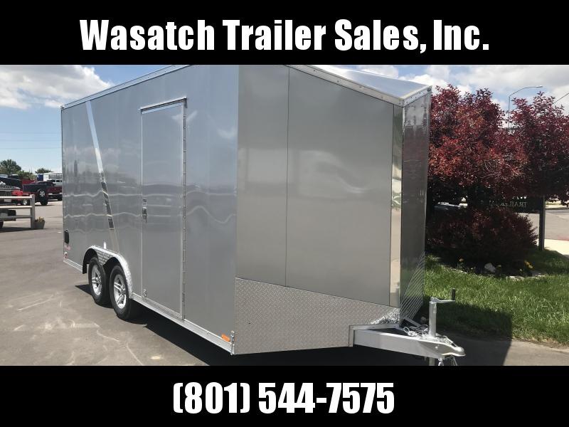 2018 Cargo Mate 8x16 Aluminum Equipment Trailer