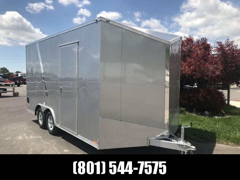 2018 Cargo Mate 8x16 Aluminum Equipment Trailer in Ashburn, VA